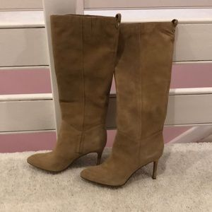 NWT Sam Edelman Olen Camel suede boots pull on